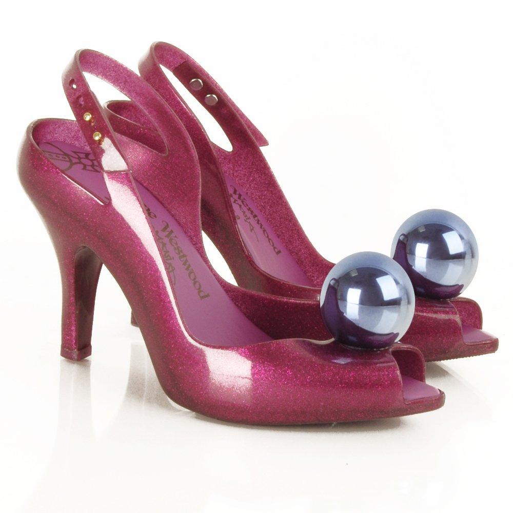 vivienne westwood shoes vivienne westwood purple ladydragon globe womenu0027s shoe ZVAOOIM
