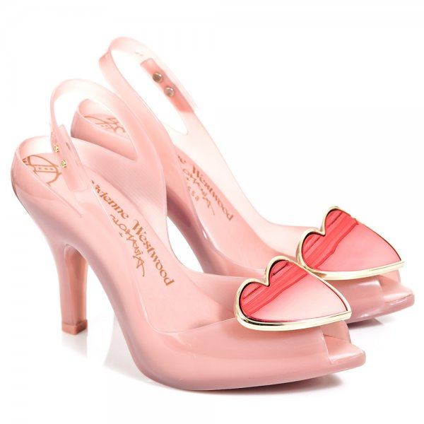 vivienne westwood shoes vivienne westwood red ladydragon heart womens peep toe shoe AZYXTQD