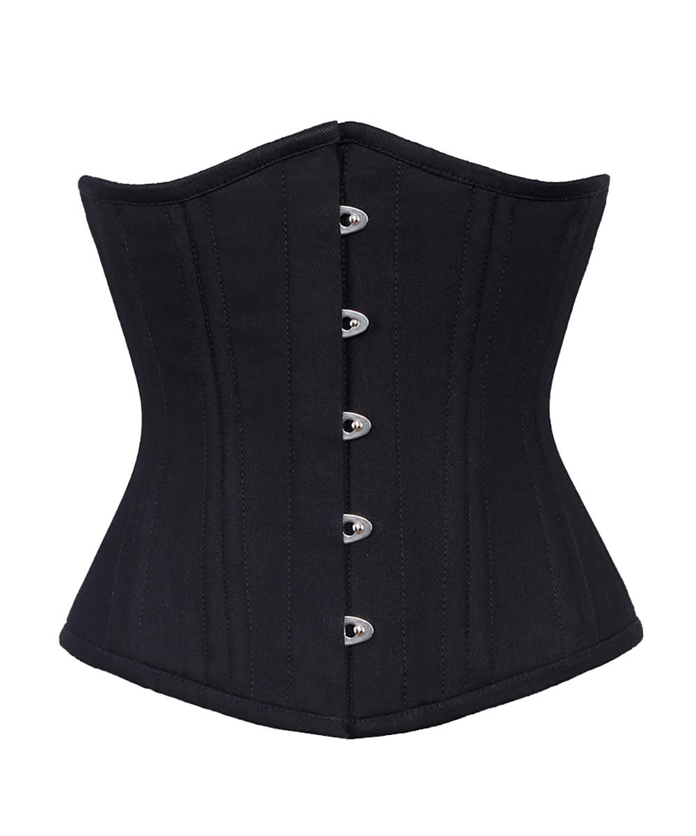 waist training corsets alondra cotton steel boned corsets waist training OIXYALA