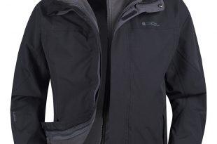 waterproof jackets storm mens 3 in 1 waterproof jacket | mountain warehouse us GHERXFN
