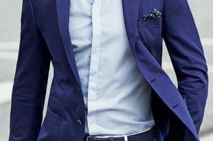 wedding ideas by colour: navy wedding suits | chwv EYIBBAD