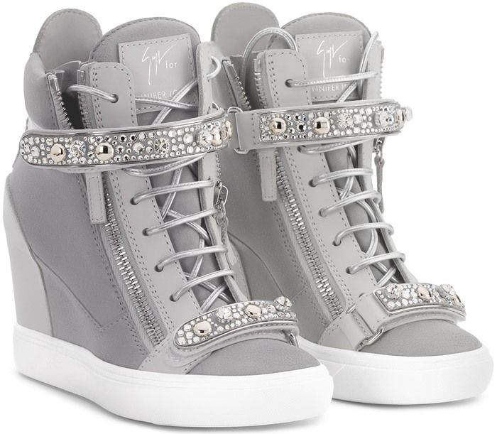 wedge sneakers giuseppe zanotti giuseppe for jennifer lopez u0027tianau0027 hidden wedge sneaker ZMMFNQX