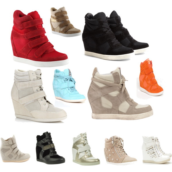 wedge sneakers over 40 fashion - would you wear a wedge sneaker? ZNQDXEX