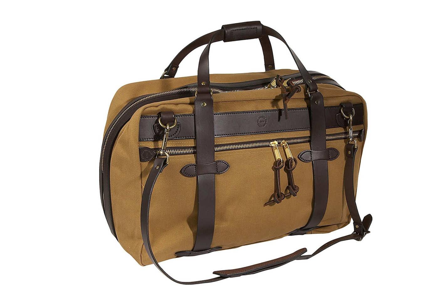 weekender bag the bag that ages well. u201c QVFJAHN