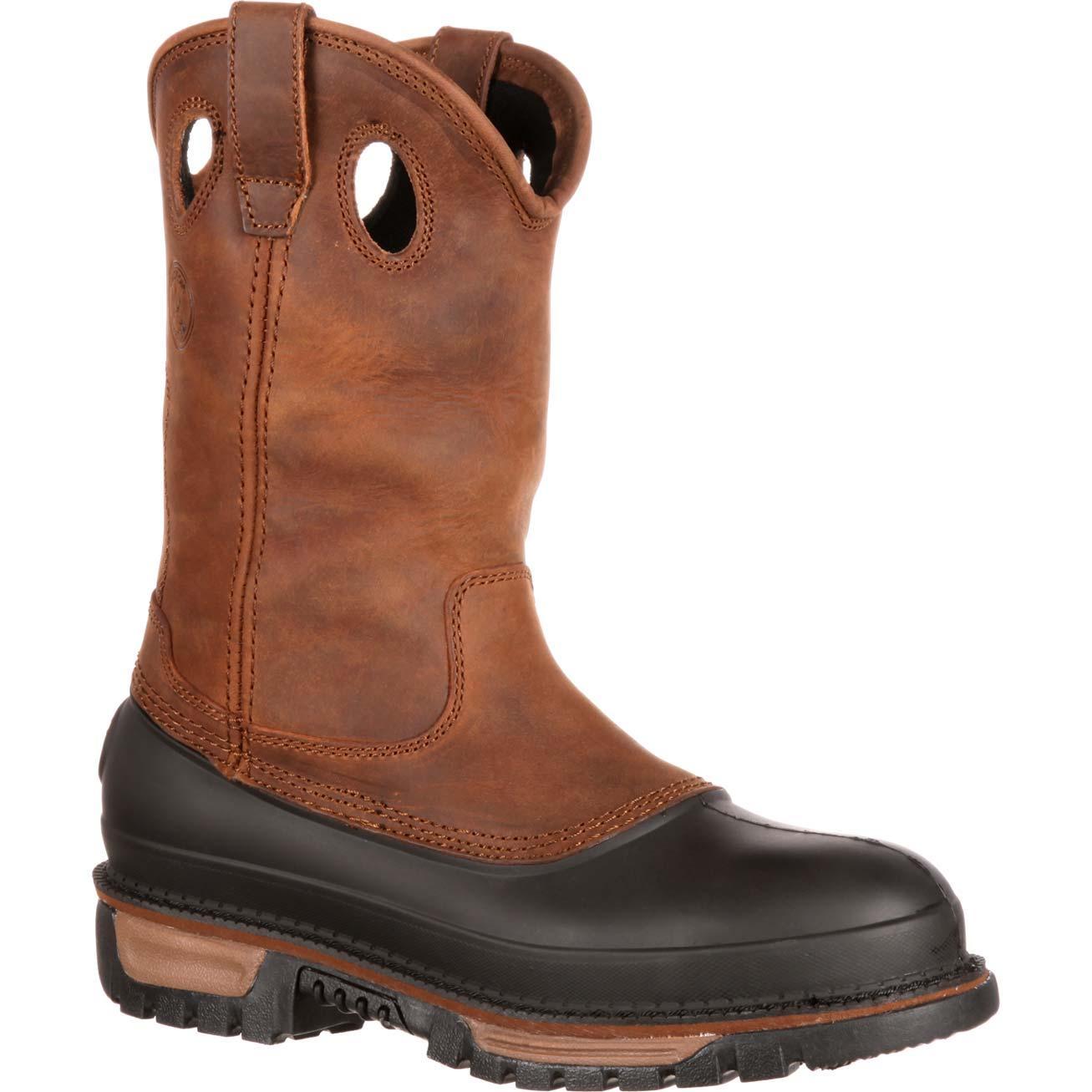 wellington boots georgia boot muddog steel toe waterproof wellington, , large VRBTEGK