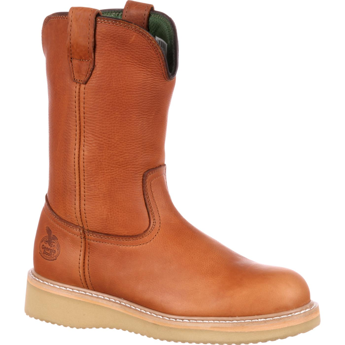 wellington boots georgia boot wedge steel toe wellington work boot VHDVSVN