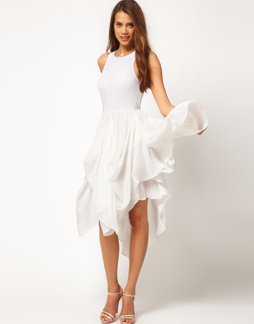 white dresses for women white-summer-dresses-popular WQHYKPL