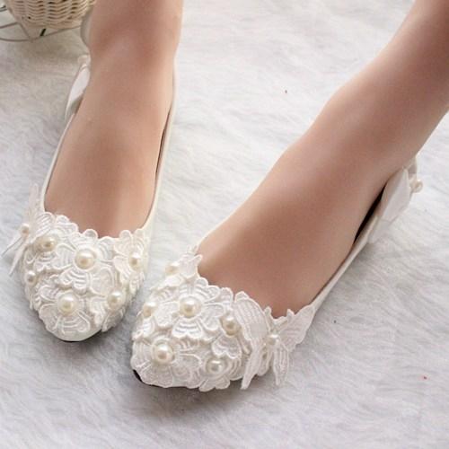 white/ivory wedding shoes,lace bridal shoes,bridal flats,wedding flats ZTYLBAL