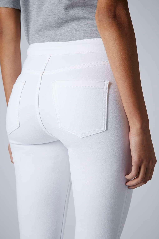 white jeans moto white wash joni jeans - jeans - clothing - topshop FUVWOVR