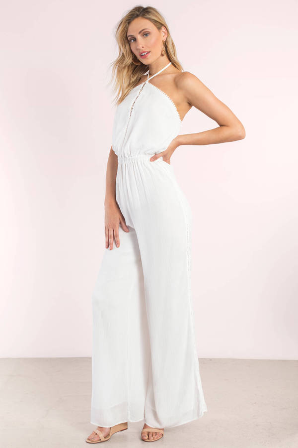 How to look best in a white jumpsuit