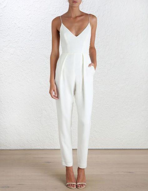 white jumpsuit pinterest↠cassidyjayleigh more OAACYRV