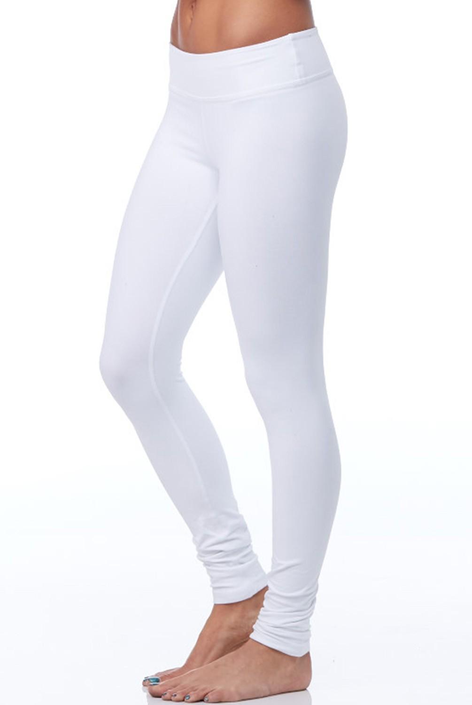 white leggings ... beyond yoga essential long legging in white ... SAGILQC