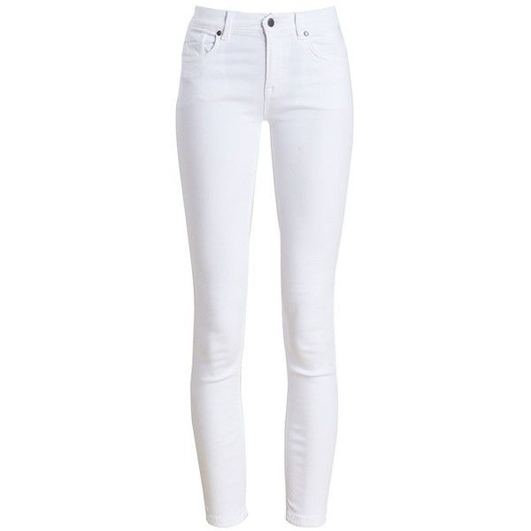 white pants womenu0027s barbour essential cropped trousers - white out found on polyvore  featuring pants, capris, IUTJUNG