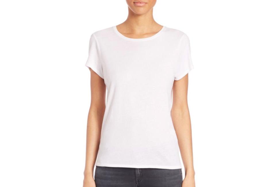 white shirt iu0027m tall so i like the t-shirt to hit below my waist. it also has ZARLFSY