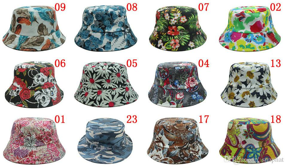 wholesale 20pcs lot,bucket hat,buckets,summer bucket hats for men and  women, bucket hats,new cloches bucket AJUTIYM