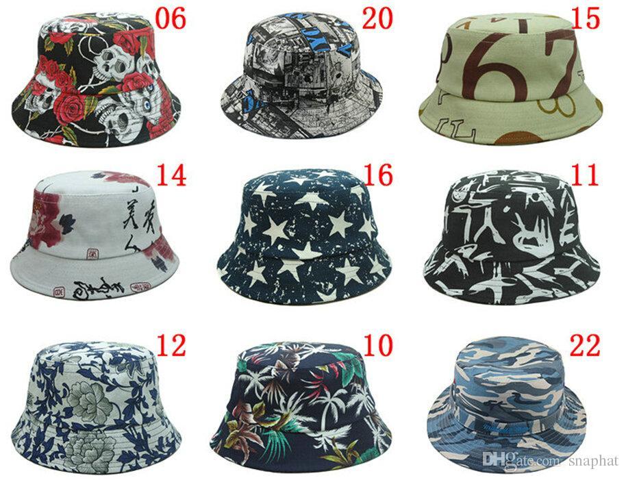 wholesale 20pcs lot,bucket hat,buckets,summer bucket hats for men and women YUQUPHI