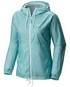 windbreaker jacket womenu0027s flash forward™ printed windbreaker - plus size VAVFRCD