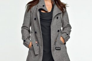 winter coats for women womens trendy plus size winter coats a line sequined black button up hoods  2014 FUDKQAR