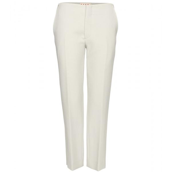 winter white pants BKQRYUC