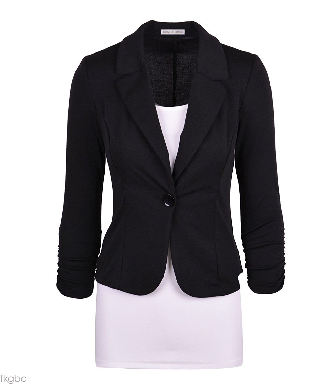 women blazers auliné collection womenu0027s casual work solid color knit blazer at amazon  womenu0027s clothing store: CSRODDG