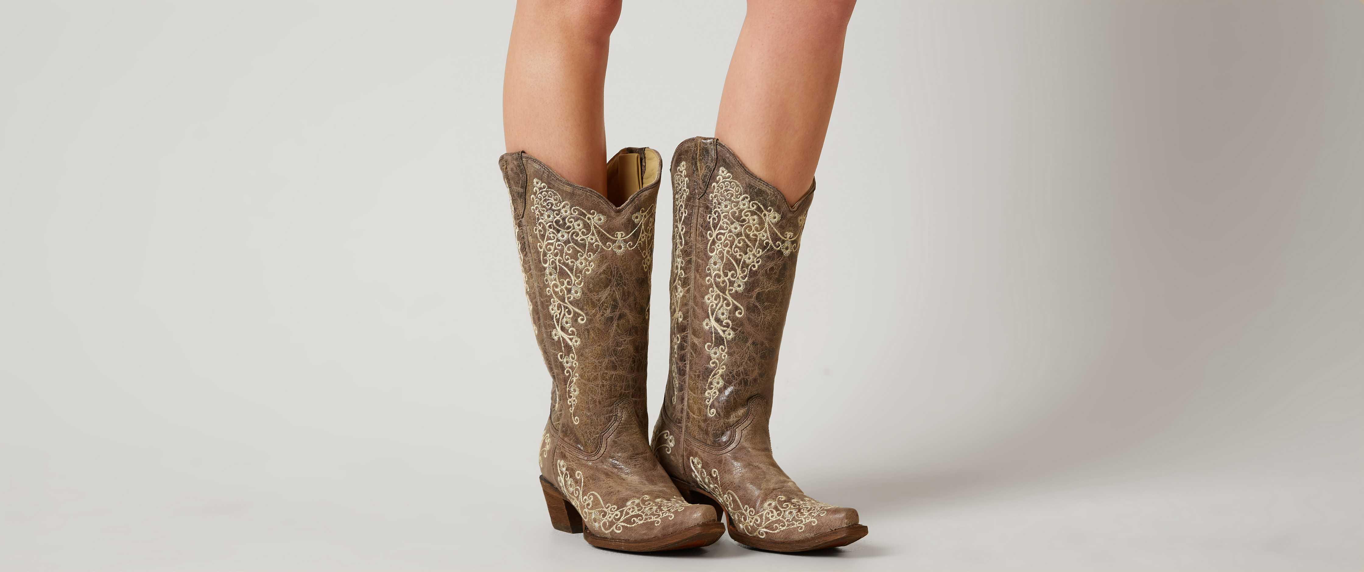 Women boots wearing tips