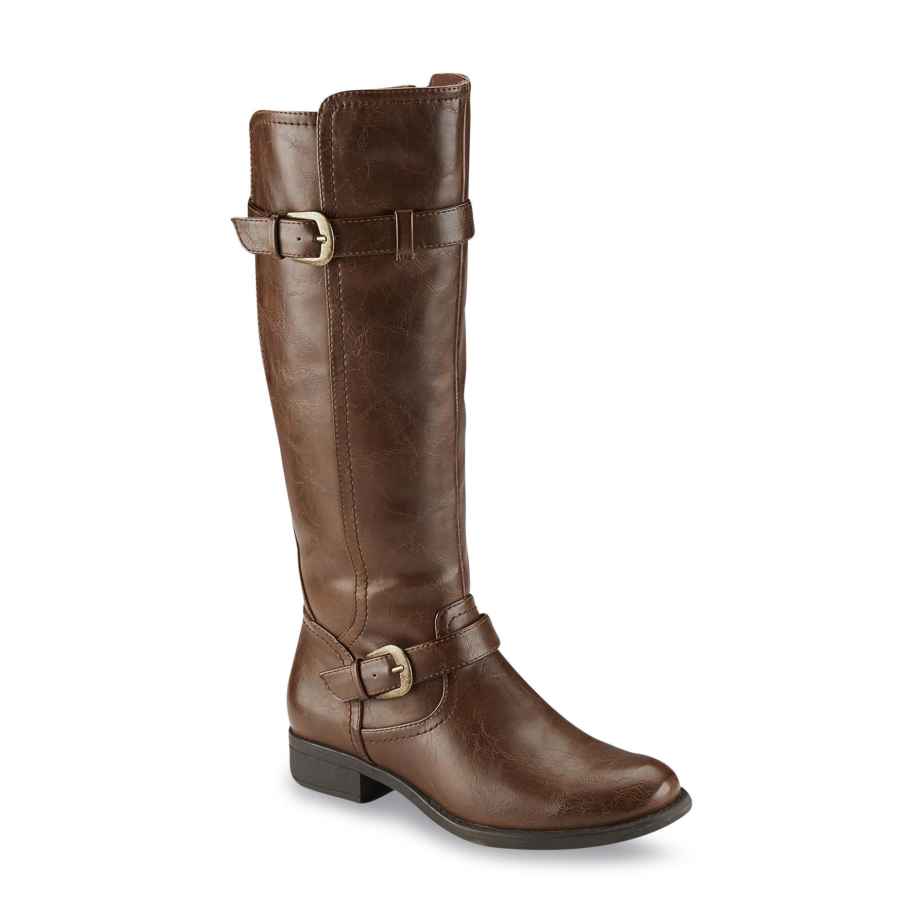 women boots therashoe womenu0027s julia brown riding boot - shoes - womenu0027s shoes - womenu0027s  boots ZSDUTVP
