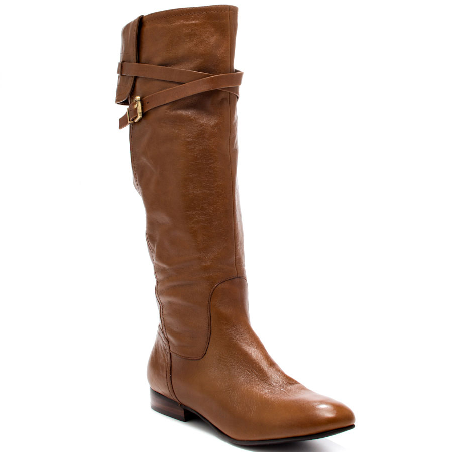 women brown leather boots - boot hto TFUJZKL