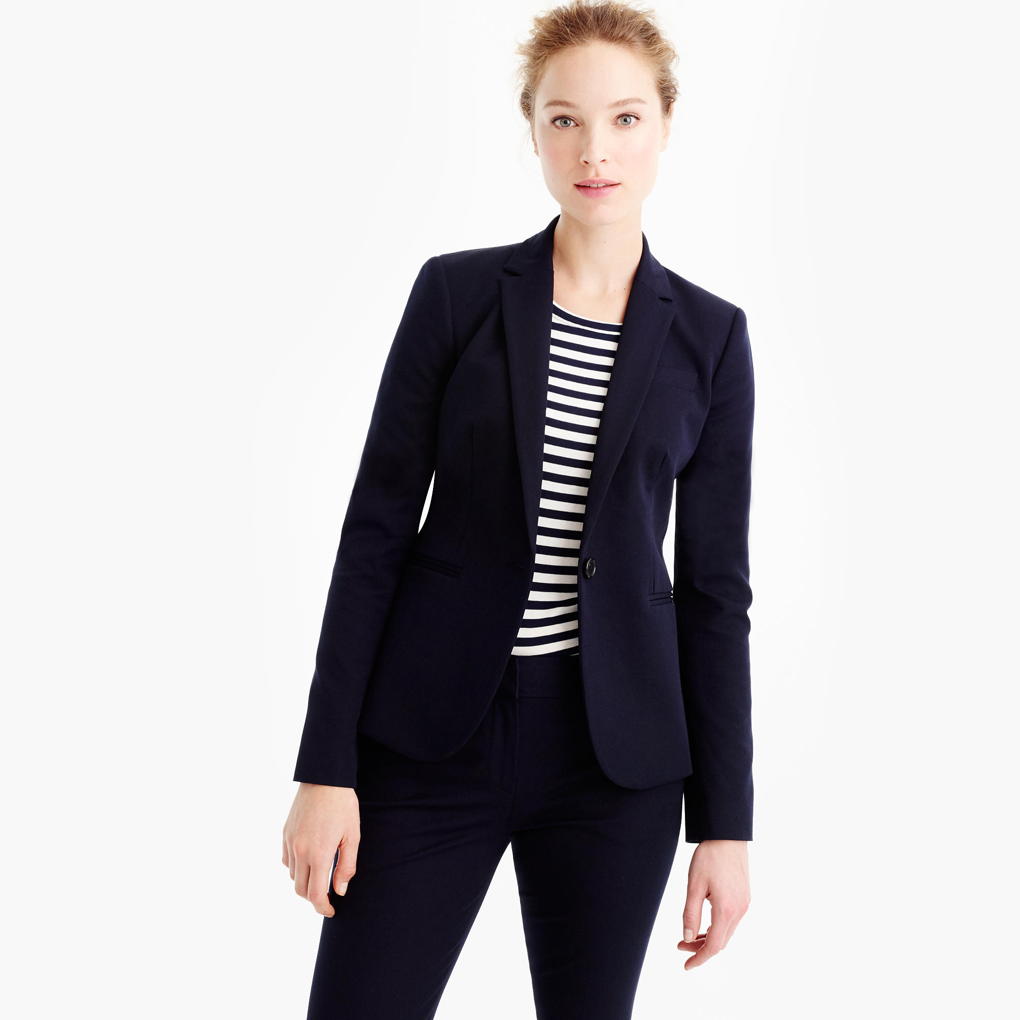 women suits campbell blazer in two-way stretch cotton HCMSVQI
