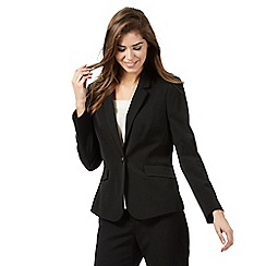 women suits the collection petite - black suit jacket XOMZJQT