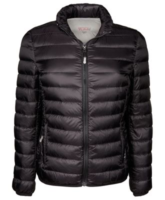 womenu0027s - clairmont packable travel puffer jacket in black AXVZGKC