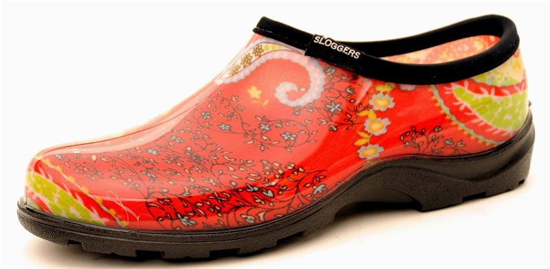 womenu0027s print rain and garden shoes by slogger usa made GMXGFTT