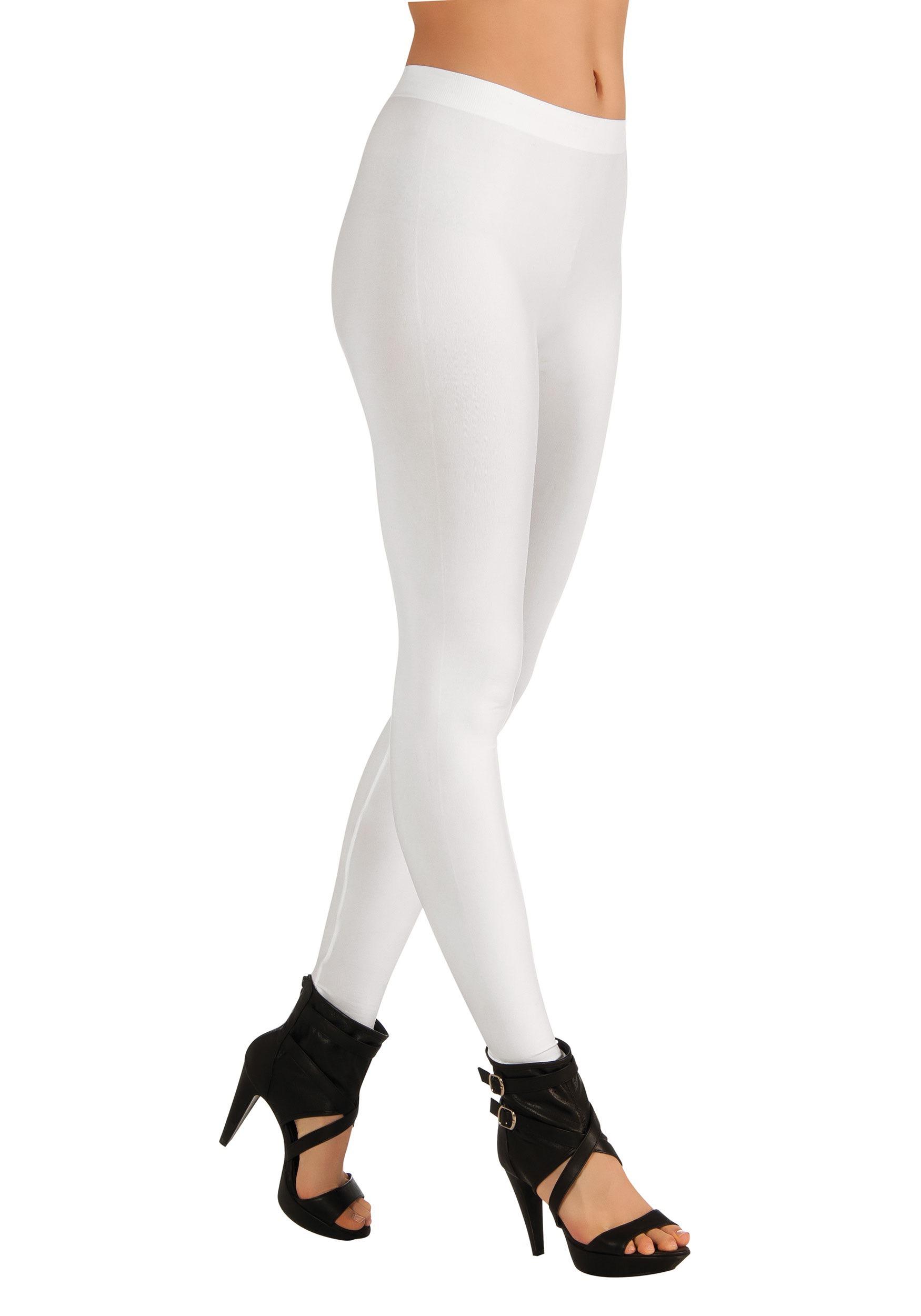 womenu0027s white leggings FFVFSDO