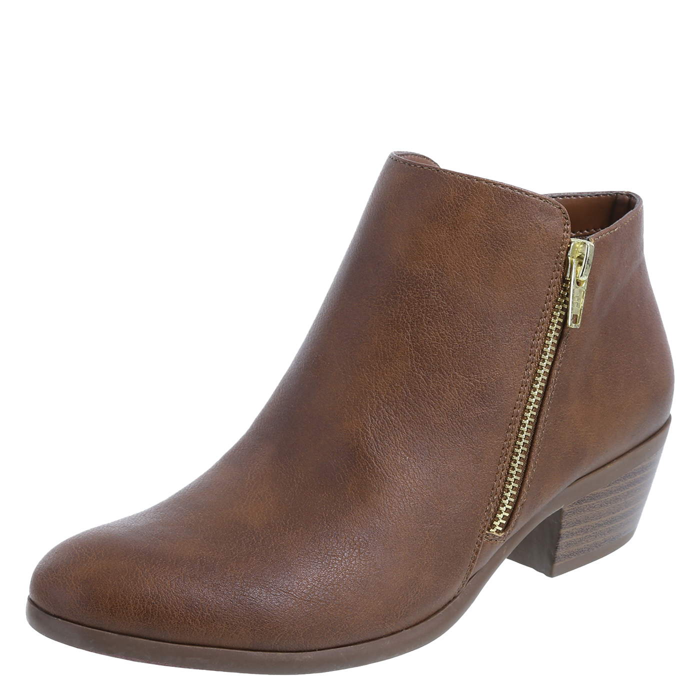 womens ankle boots womenu0027s savvy zip ankle bootwomenu0027s savvy zip ankle boot, cognac FPCBOGR