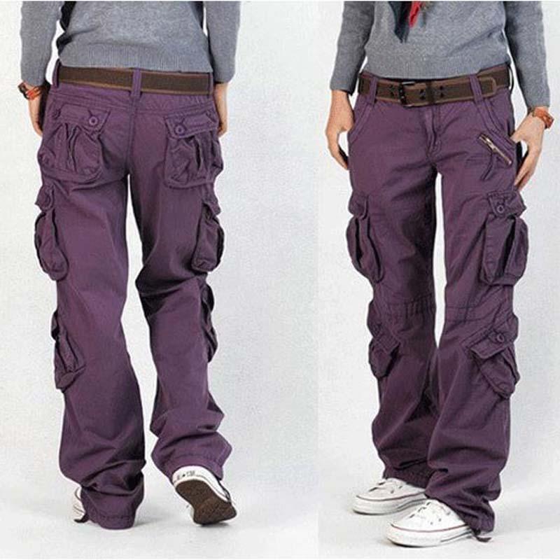 womens cargo pants aliexpress.com : buy woman cargo pants cotton trousers loose plus size  ladies harem hip IMZJJWL