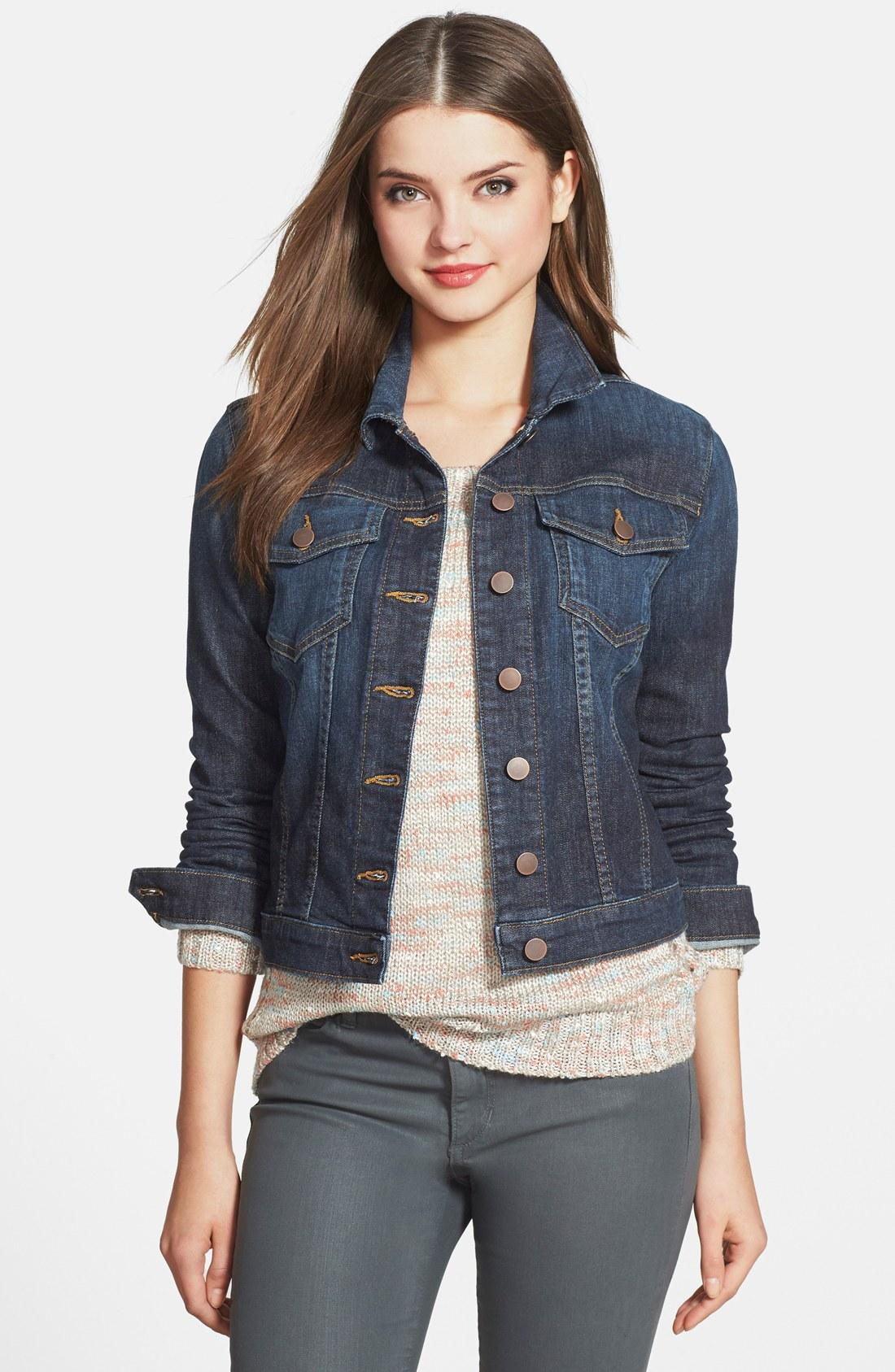 Classic spring summer staple: womens denim jacket