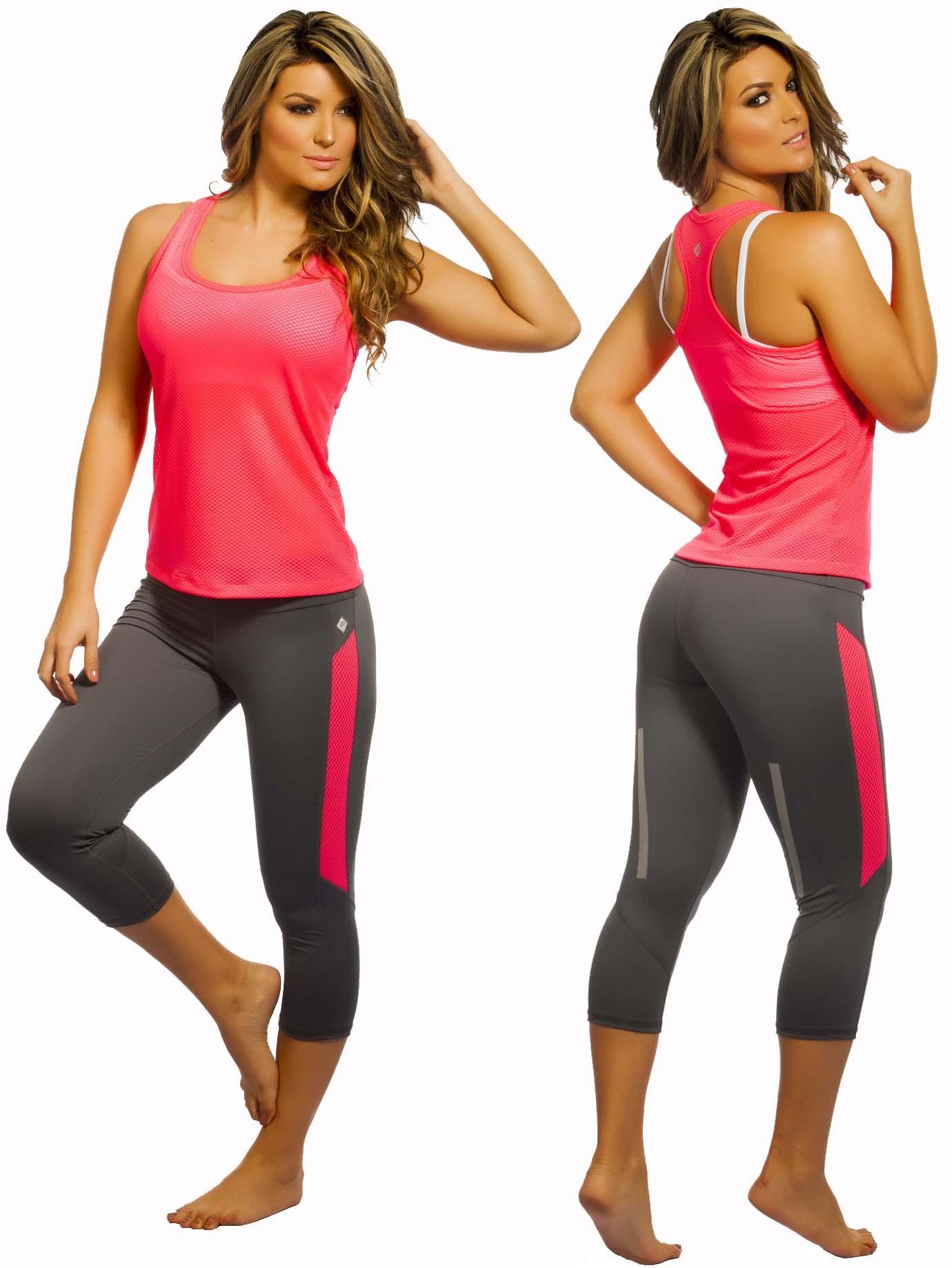 womens gym wear protokolo-top-070-capri-2694 ZDVFBJW