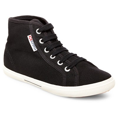 womens high top sneakers womenu0027s superga canvas high top sneakers - black. superga. shop all  superga. $34.99 BVHZATM