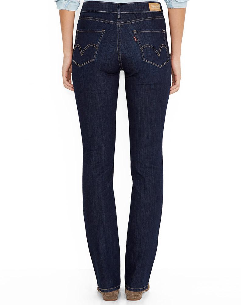 womens jeans leviu0027s ® womenu0027s 515 ™ boot cut jean - blue springs HFSYFBW