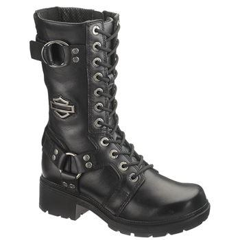womens motorcycle boots harley-davidson womenu0027s eda 9 CSRWRGP