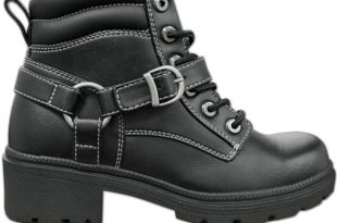 womens motorcycle boots milwaukee motorcycle clothing co. womenu0027s paragon black leather boots BOJXXUE