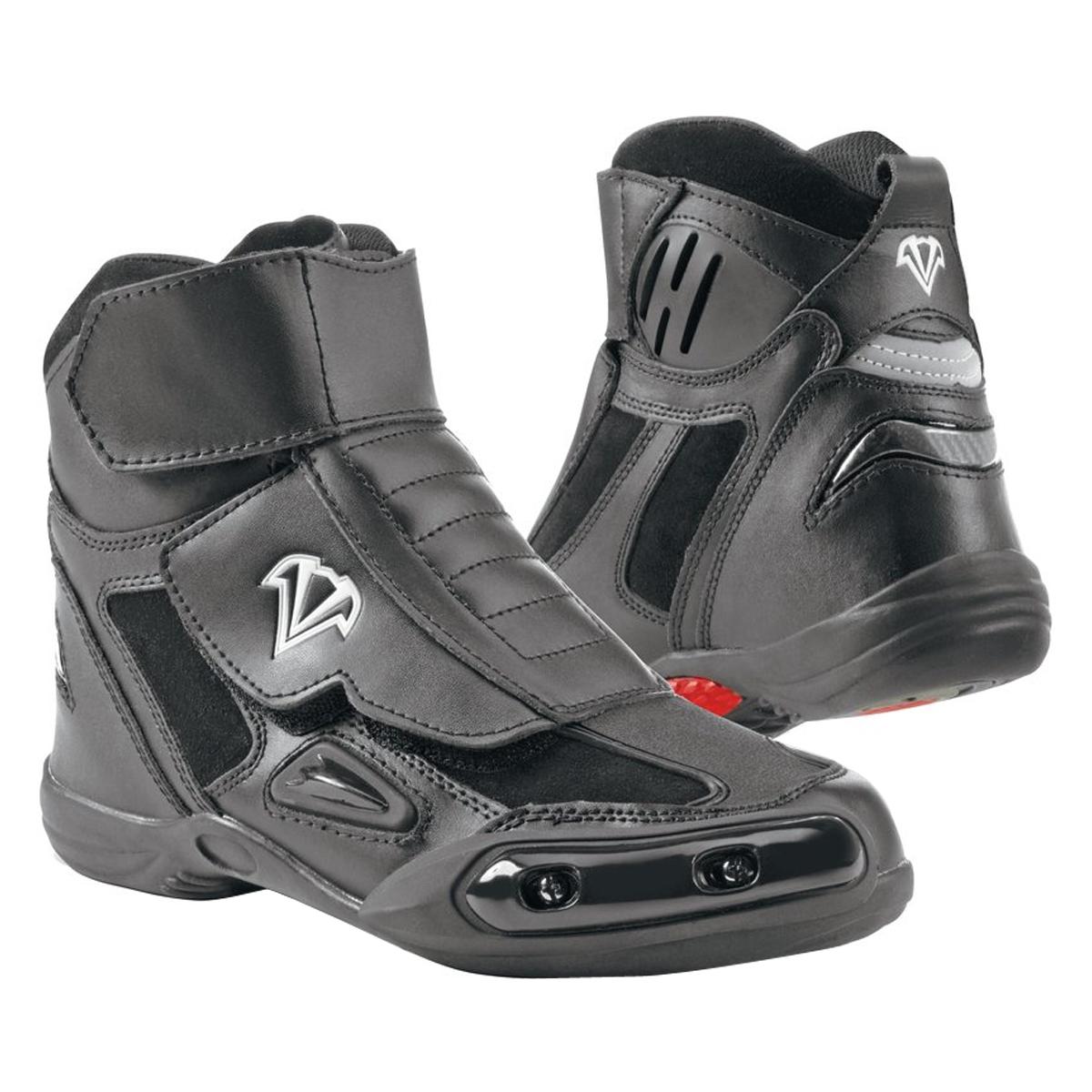 womens motorcycle boots vega womenu0027s merge motorcycle boots black EYWIHGE