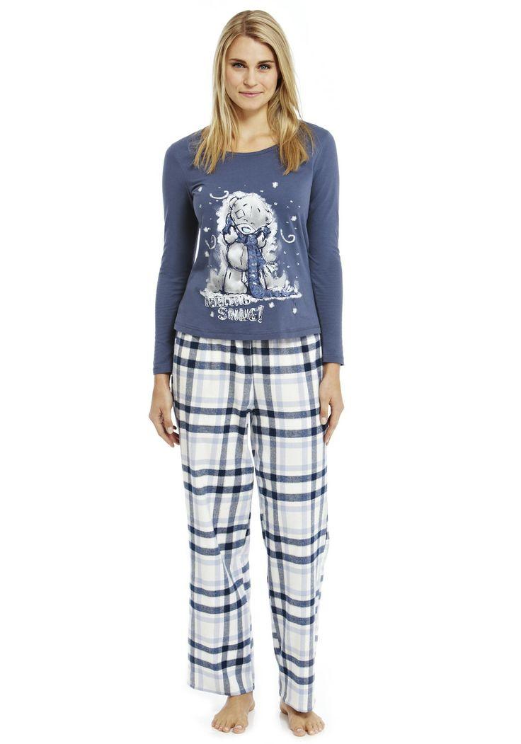 womens pyjamas clothing at tesco | me to you tatty teddy pyjamas nightwear nightwear  slippers women ZYALLUE