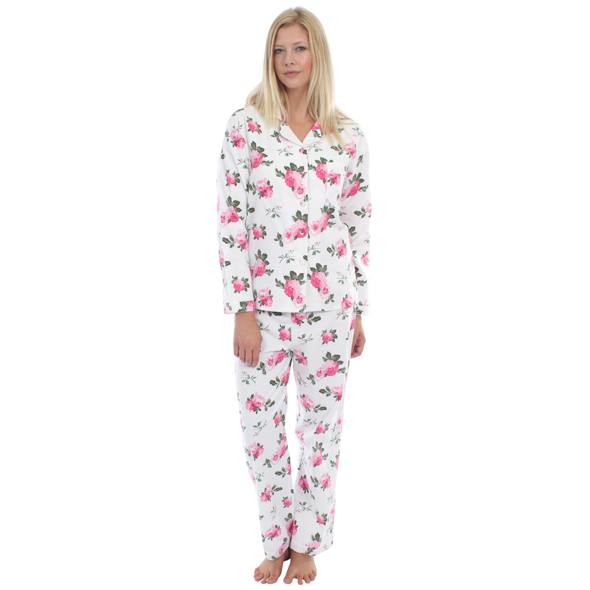 womens pyjamas rose vintage pyjamas ELTNORE