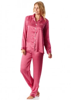 womens pyjamas silk pink links pyjamas. womenu0027s ... XPOMPKF