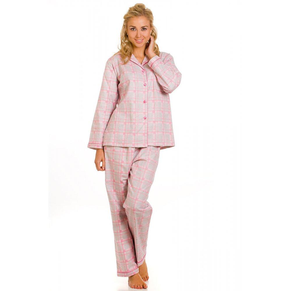 womens pyjamas womens grey and pink cotton wincy pyjamas set sizes 10-24 ICURQBY