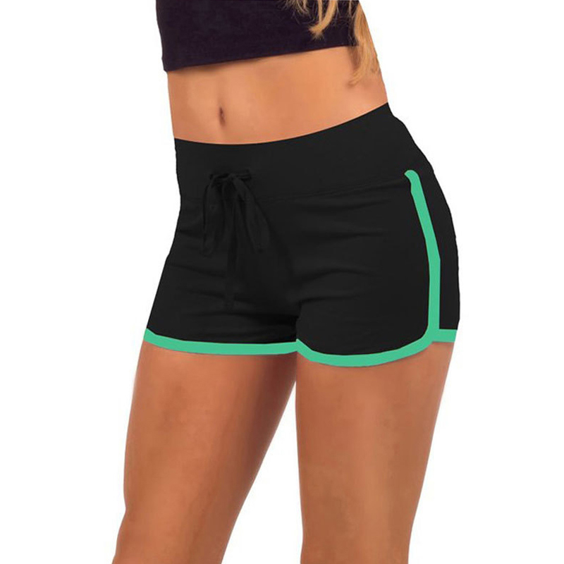 womens shorts plus size women sports yoga shorts workout fitness running sport shorts  cotton high waist OJSVCBX