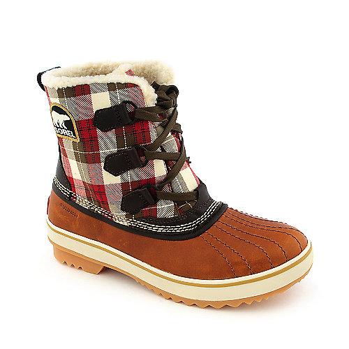 womens sorel boots sorel tivoli plaid womens boot WLWLJNH