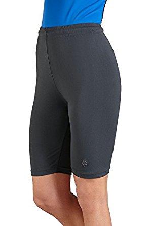womens swim shorts coolibar upf 50+ womenu0027s swim shorts - sun protective DNZMAZD