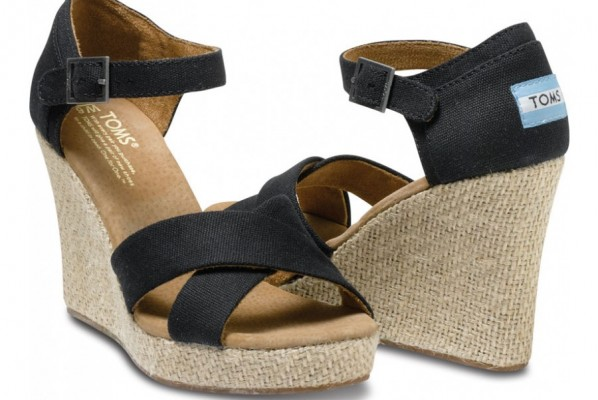 womens wedges womens black canvas wedges VRAHAGR