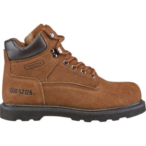 womens work boots brazos™ womenu0027s dane v steel-toe work boots XDTIRHU